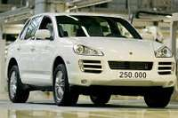 250000th porsche cayenne 1glowne