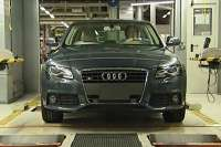 audi a4 on production line 3