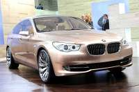 bmw 5 series gt concept at 2009 geneva motor show 4glowne1
