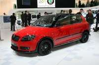 skoda fabia vrs design study at geneva 2009 3glowne