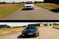 corvette zr1 mercedes sl65 amg video b