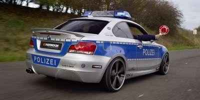 bmw 123d coupe police car 19glowne