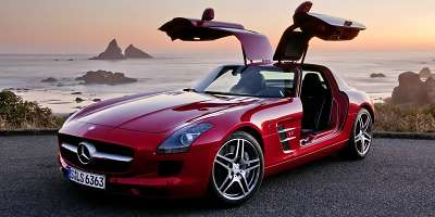 mercedes benz sls amg gullwing 13glowne