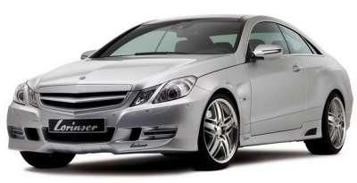 lorinser mercedes e class coupe 001glowne