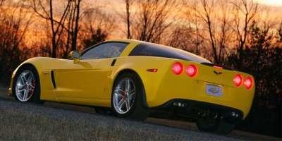yellow chevrolet corvette z06