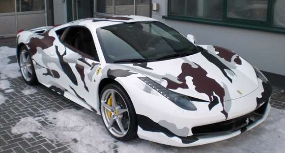 ferrari f458 italia camouflage 0011