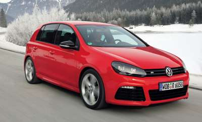 volkswagen golf r red 8glowne
