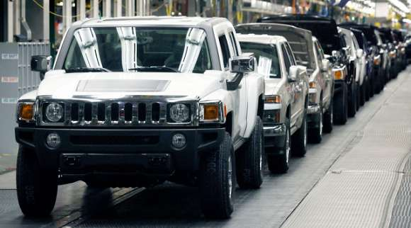 hummer h3ta assembly line glo