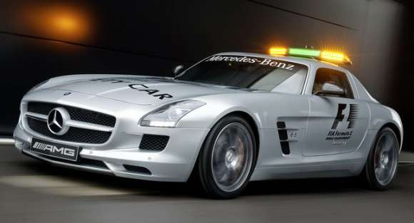 mercedes sls amg gullwing safety car 001glowne
