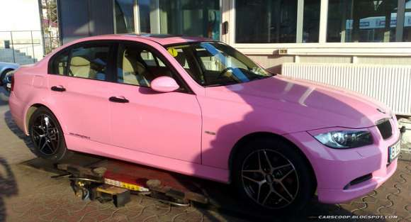 pink panther bmw 01 glo