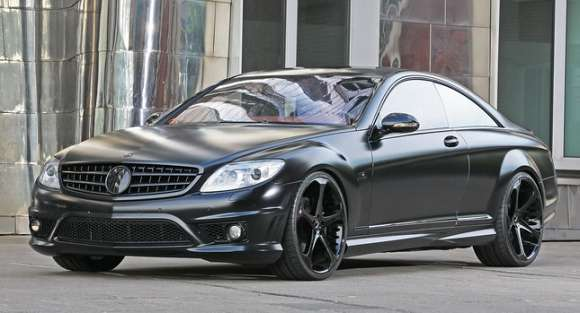 mercedes cl65 amg anderson black edition 01 glo