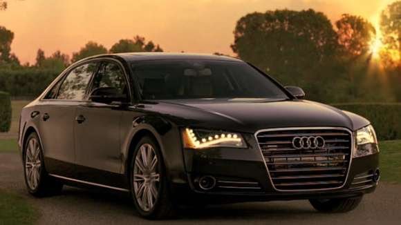 audi a8 superbowl commercial screen grab glo