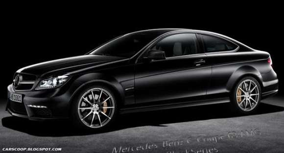 lpdesign mercedes c coupe 63 amg black series 1 copy glo