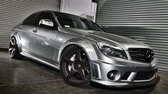 mercedes c63 by tecnw glo