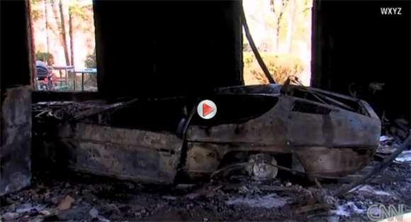 Lamborghini Z 1974 Roku Wybucha W Garażu I Niszczy Dom Kt 243 Ry Właśnie Został Sprzedany Video