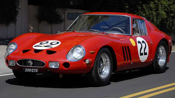 Classic Car Photography Stock Image