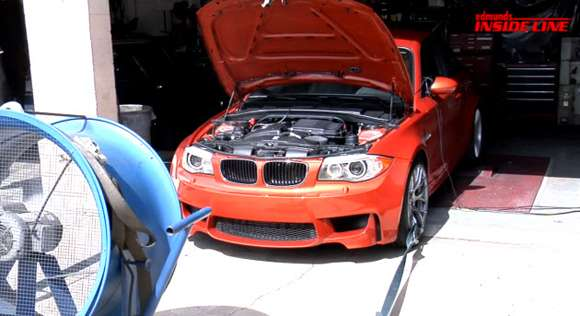 bmw 1 series m on dyno glo