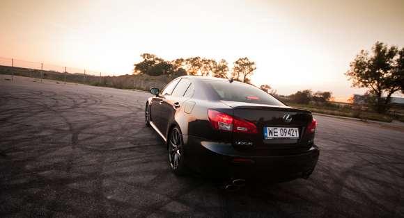 Lexus IS-F 5,0 V8 423 KM test