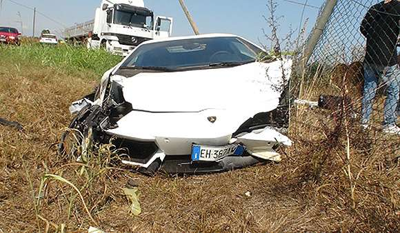 photo update on lamborghini lp7004 aventador crash glo