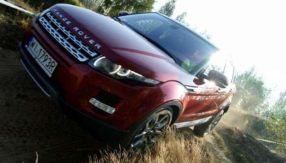Range Rover Evoque test