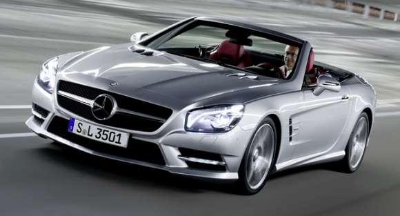 2013 mercedes sl roadster carscoop60 glo
