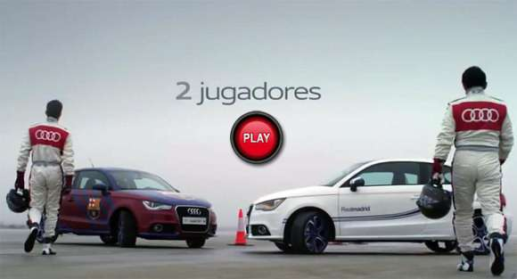 real madrid barcelona audi a1 glo