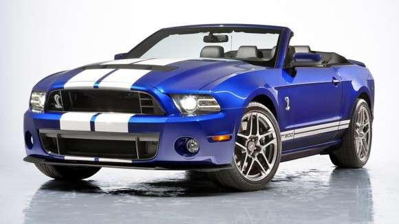 2013 Ford Shelby GT500 Cabrio