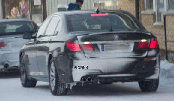 Nowe 2013 BMW serii 7 po faceliftingu spy
