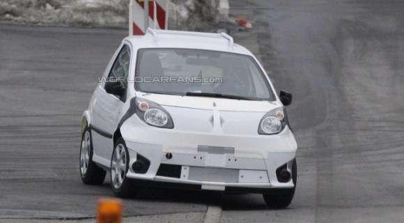 Nowa generacja Renault Twingo i Smarta ForTwo przyłapana podczas testów