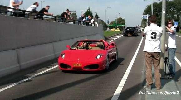 53 egzotyczne auta w tunelu