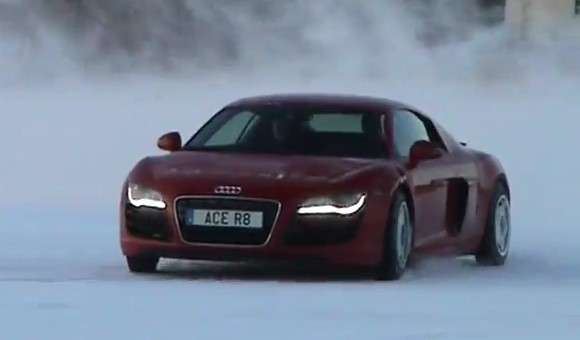 Audi R8 V10 od ACE Competition w drifcie