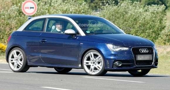 Audi S1 2013 spyshots