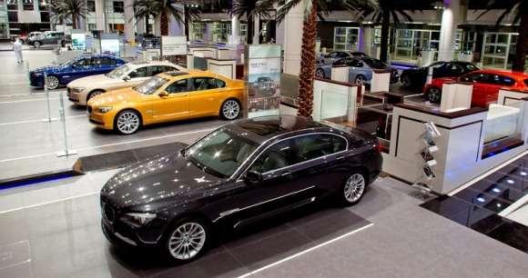 Salon BMW w Abu Dhabi