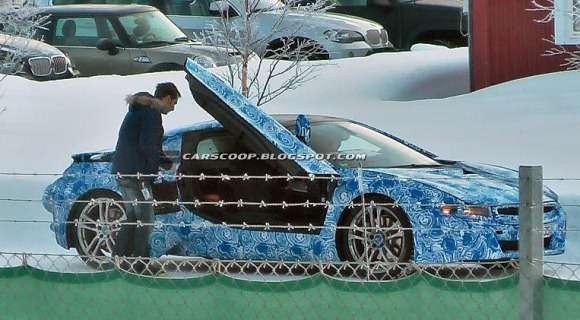 BMW i8 spy