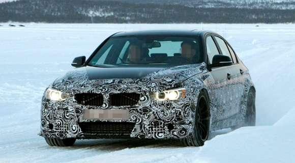 BMW M3 F30 na zdjęciach szpiegowskich