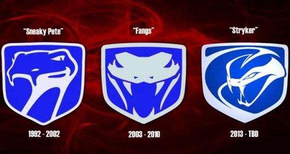 2013 SRT Viper otrzyma nowe logo