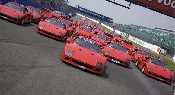 25-lecie Ferrari F40