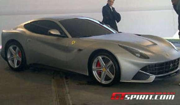 Ferrari F620 GT 2013 wyciek zdjęć