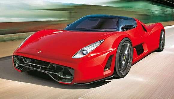 Ferrari F70 wizualizacja