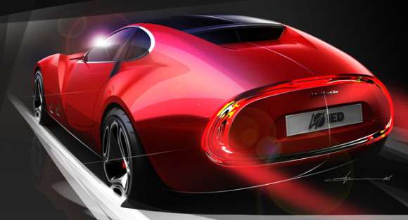 Cisitalia 202 E Sports Coupe Concept