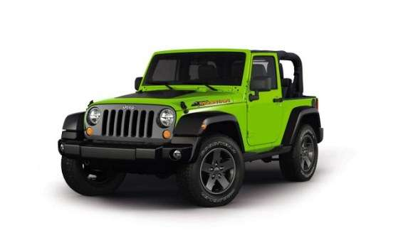 Jeep Wrangler Mountain Edition