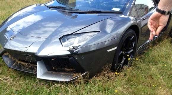 Lamborghini Aventador wypadek Nowa Zelandia