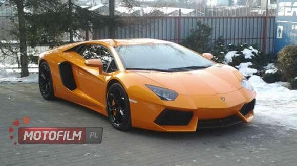 Pierwszy Egzemplarz Lamborghini Aventador Już W Polsce