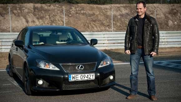 Lexus IS-F 5,0 V8 423 KM Ben Collins Top Gear
