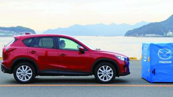 Mazda CX-5 system smart city brake