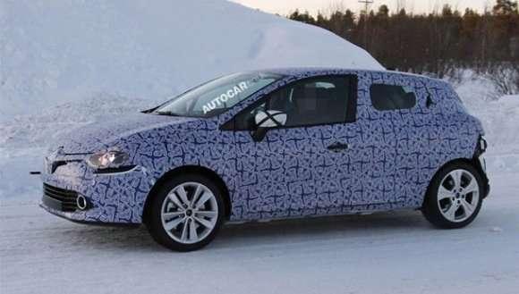 Nowe Renault Clio zdjęcia szpiegowskie