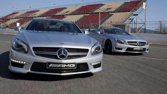 Nowy Mercedes SL63 AMG