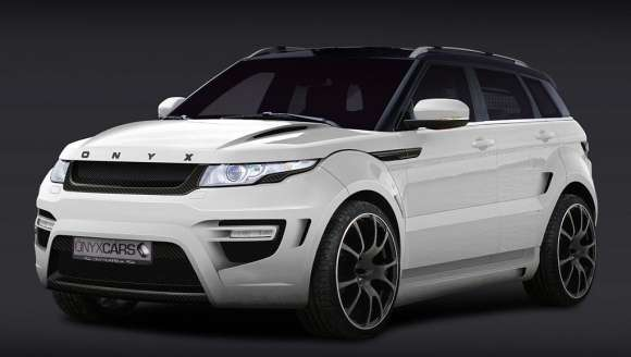 Range Rover Evoque Rouge Edition 2012 od Onyx Cars