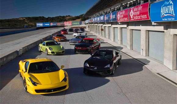Pojedynek superaut Motor Trend