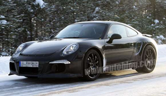 Porsche 991 911 GT3 zdjęcia szpiegowskie